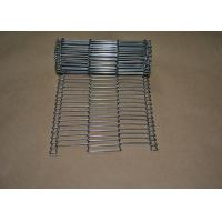 China Stainless Steel Flat Flex Wire Mesh Conveyor Belt For Drying And Cooking wholesale