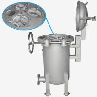 China BOCIN Stainless / Carbon Steel Bag Filter Housing , Quick Open Multi-bag Filter INOCO BF Serial wholesale