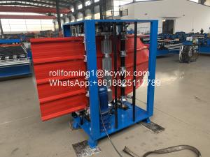 China 6m/Min Manual Arching 0.25mm Cold Roll Forming Machine wholesale