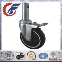 China total lock caster with stem mount for steel shelving medical china wholesale