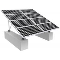 China Solar Photovoltaic RV Solar Mounting Systems , 0-60 Degree Solar Panel Roof Mounting Kits wholesale