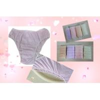 Quality Ultra-Light Cotton Disposable Incontinence Pants for Adult Women Briefs for sale