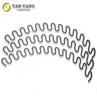 China Custom Factory Sofa Spring Snake Shaped Zigzag Spring Stainless steel wire forming zigzag spring wholesale