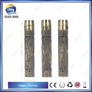 China Fashion Style   Ego Twist  Battery Happy Cowboy for  Ecigarette  2200 mAh  Ego Twsit Battery wholesale