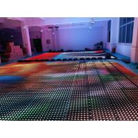 Buy cheap Flexible Soft Led Curtain Panel Wall , Foldable Stage Background LED Display Big from wholesalers
