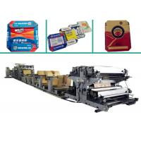 Quality Large Scale Cement Kraft Paper Bag Manufacturing Machine With 21.3m x 2.3m x 1 for sale