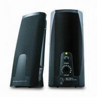 China Computer Speaker with 180W PMPO, Measuring 2 x 2.25cm wholesale