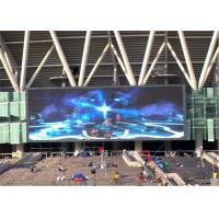 Buy cheap Remote Control Outdoor Full Color LED Display Screen Adjusted Brightness from wholesalers