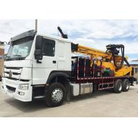 China Truck Mounted Full Hydraulic Water Well Drilling Machine With Cummins Engine wholesale