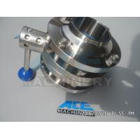China Sanitary Stainless Steel Pulling Hanlde Butterfly Valve (ACE-DF-7T) wholesale