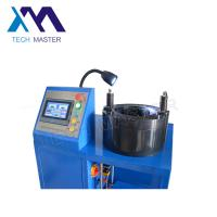 China Touch Screen Air Suspension Shock Crimping Machine For Hydraulic Hoses wholesale