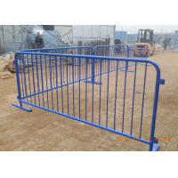 Buy cheap Flat Detachable Feet Steel Crowd Control Barricade For America Market from wholesalers