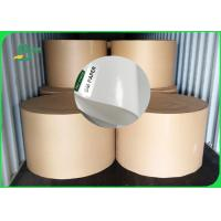 Buy cheap 60gsm 70gsm 80gsm 120gsm Oil resistant FDA Bleached kraft paper roll for meat from wholesalers
