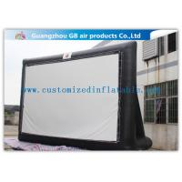 China Large Inflatable Movie Screen Outdoor Cinema 8 X 4.5m Free Logo Printing wholesale
