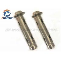 China Customized Stainless Steel Anchor Bolts , A2-70 304 Sleeve Anchor Bolt with Washer wholesale