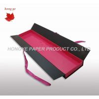 China Hair Extension Recycled Cardboard Packaging Boxes With Ribbon on sale