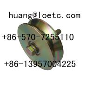 China industrial  metal  slide gate roller on sale