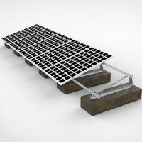 China 60m/S Wind PV Solar Panel Frame Mounting Kit , Triangular Bracket Solar Power Roof Systems wholesale