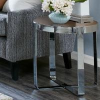 Buy cheap Mid Century Solid Wood End Tables 18mmT MDF With Pine Wood Veneer Top from wholesalers