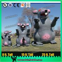China Giant Parade Inflatable Animal Advertising Inflatable Mouse Customized Inflatable Cartoon wholesale