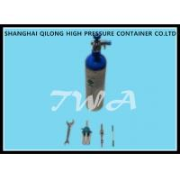 LW-YOY 0.47L Aluminum Gas Cylinder Safety For Compressed Oxygen