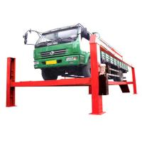 China Home Garage Electric Hydraulic Auto Lift 8T , 380V For Heavy Duty Truck wholesale