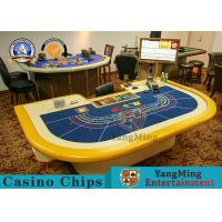 China outheast Asian Baccarat Gambling Poker Casino Style For Gambling Poker Tables Poker Table Factory Pirce wholesale