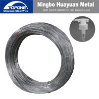 China 0.8mm Stainless Steel Spring Wire For Aerosol Spring  / Sprayer / Lotion Pump wholesale