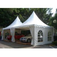 China Waterproof Aluminum Pagoda Tent , Movable Canopy Tent Frame CE Standard wholesale