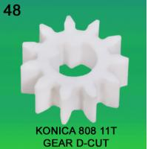 China GEAR TEEETH-11 D-CUT FOR KONICA 808 MODEL minilab wholesale