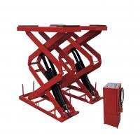 Quality Electric SCISSOR Hydraulic Auto Lift , Garage In-ground Scissor Lift for sale