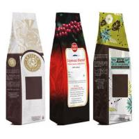 China Light Aluminum Foil Coffee Plastic Packaging Bags With Valve , Stand Up Type wholesale
