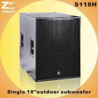 "Buy cheap S118h 18"" Powerful Subwoofer from wholesalers"