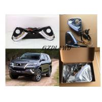 China White And Black Turning Function Light Daytime Running Lights For Toyota Fortuner wholesale