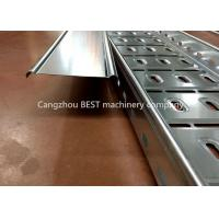 Buy cheap Full Automatic Cable Tray Roll Forming Machine , Cable Tray Manufacturing from wholesalers