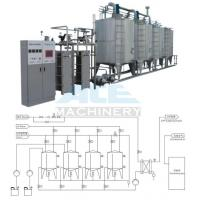 Quality automatic CIP washing system, CIP system, beverage machinery Automatic Milk for sale