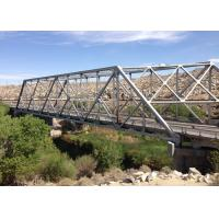 China Long Span Galvanized Surface Treatment Steel Truss Bridge Modern Structural Outlooking wholesale