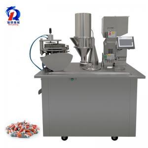China Pharmaceutical Powder Semi Auto Capsule Filling Machine PLC Control wholesale