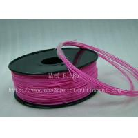Buy cheap Stable performance Pink HIPS 3d printer filament materials 1kg / Spool product