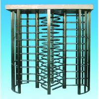 Quality 304 stainless steel RS485 full height turnstile with LED figure count for for sale