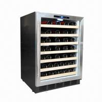 Buy cheap 54-bottle Capacity Single-zone Wine Cellar, Built-in or Free-standing from wholesalers