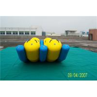 China 4 Seat Double Banana Boat Water Sport Hot Welding 5-10Years Service Life wholesale