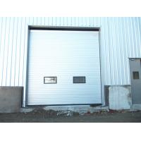 China Standard PVC Exterior Industrial Sectional Doors With Single Phrase , Vertical Lift Door on sale