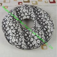 China Quilted Round Seat Cushion Pad , Cotton Memory Foam Dining Chair Cushions wholesale