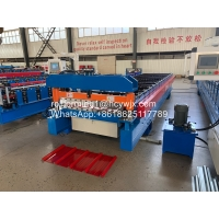 China 1250mm Metal Oman Roofing Sheet Roll Forming Machine wholesale