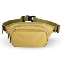 China Zipper Closer Polyester Camouflage 2.5L Outdoor Waist Pack wholesale