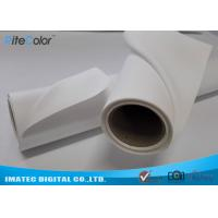 China Ultra Premium Polyester Water Resistant Inkjet Canvas Instant Dry Soft Matte Surface on sale