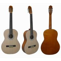 China 39 inch Natural Wood Classical Guitar with Rosewood fingerboard CG3911A wholesale