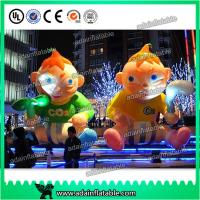 China 3m Customized Advertising Inflatable Human Cartoon Kids Replica Baby Inflatable wholesale