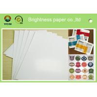 China Specialty Full 80gsm Art Paper Rolls , Recycled Craft Paper Wood Pulp Material wholesale